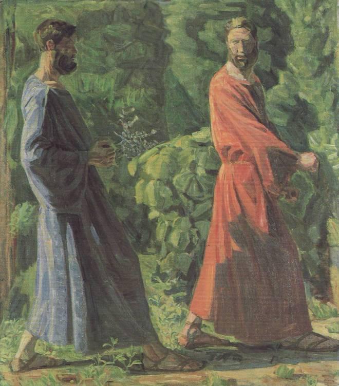 1910-11 Niels Larsen Stevns Vig bag mig Satan Sorø Kunstmuseum