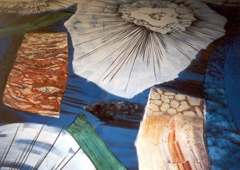 2001 Per Kirkeby loft AA U Anastasis
