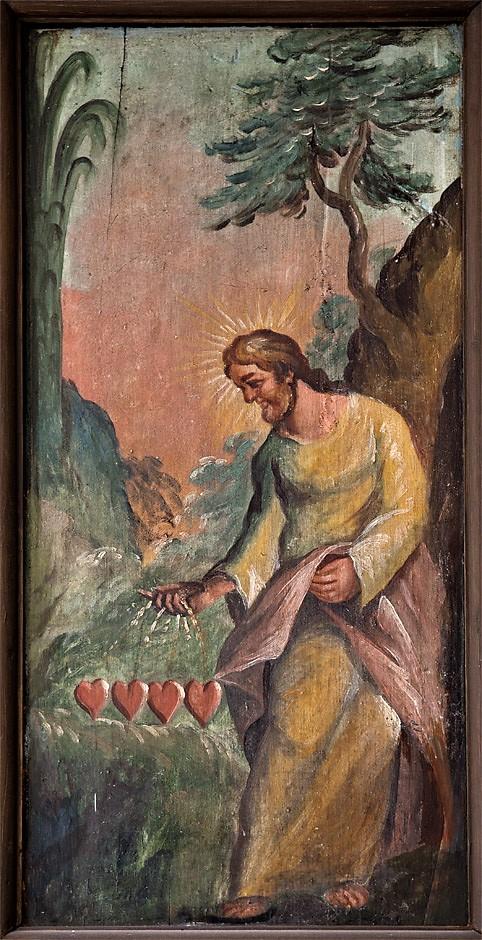 1700-tallet ukendt maler Pietistiske farvekorrigeret billede i Budolfi Orgelpulpiturs vestside i sdr sideskib NC6593budolfi-2.jpg