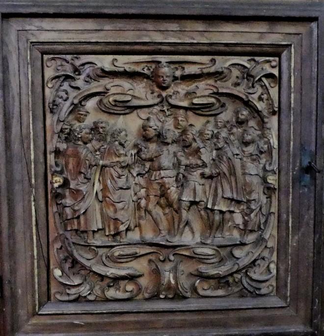 1635-7 Hans Dreyer Holckenhavn Jesus uddriver en ond ånd, Claus P1030916