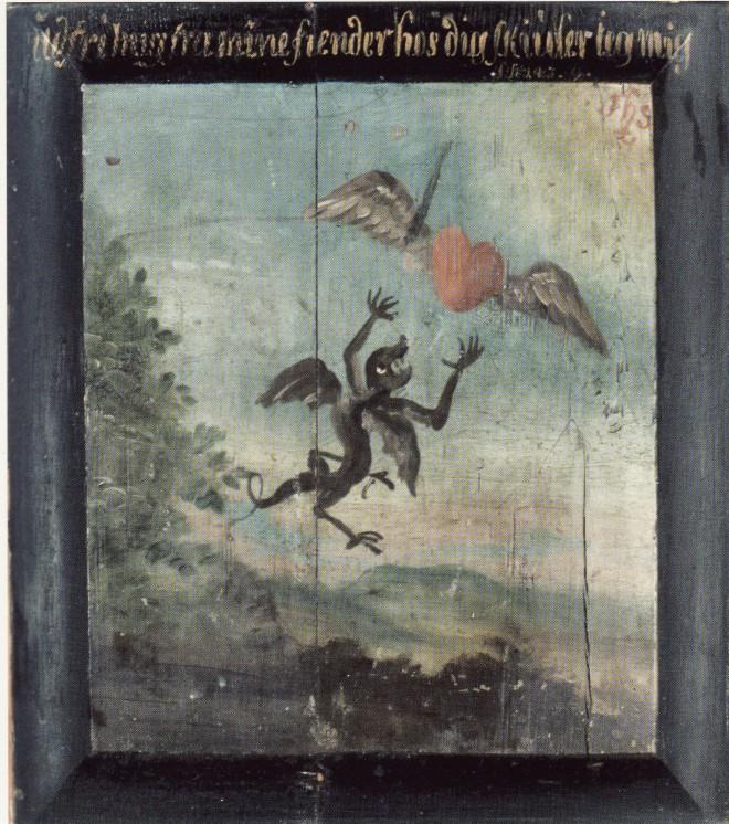 1734-36 Mogens Chr. Thrane emblem Viborg Søndre, Sortebr. Warming og Fogde (2)