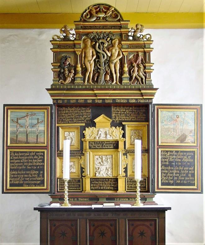 1755 Rostrup Kirke Mariagerfjord, Claus DSC09696.jpg