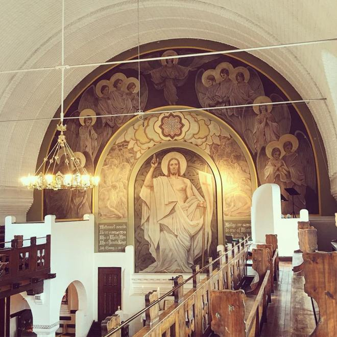 1900 Frans Schwarts Menneskesønnens tilbedelse, Nathanaels kirke 13260809_1164842240224853_1997089050_n.jpg