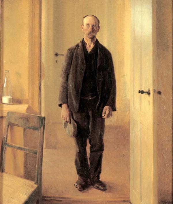 1910 Carl V. Meyer En sulten ved døren f15ede60fc