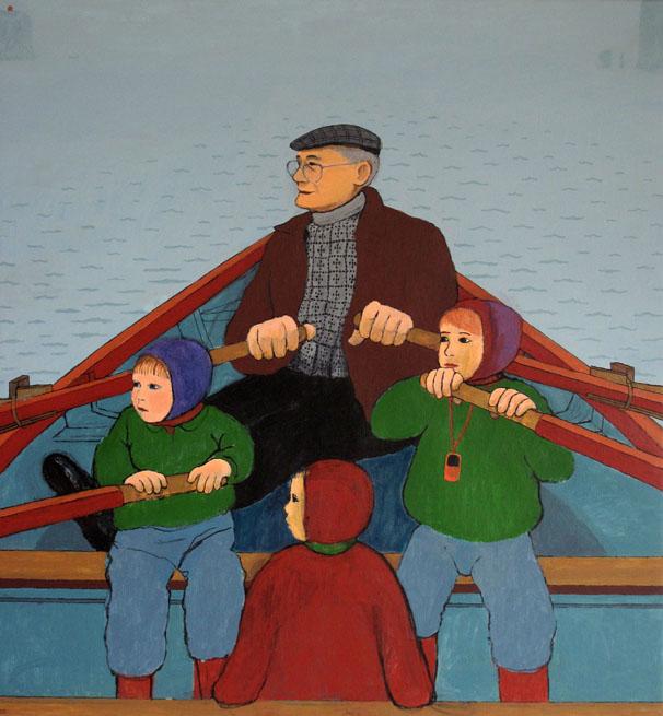 Sigrun Gunnarsdottir I bedstefars båd 16iabbasabati