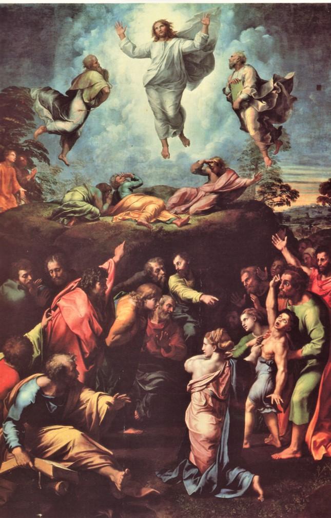 1517 Rafael Transfiguration Vaticanmuseet Billede1