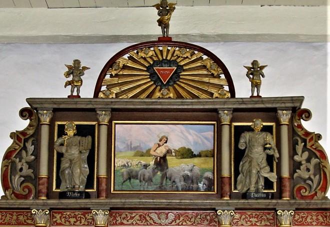 1895 Luplau Janssen Fjelsø kirke topstykke Claus DSC08870