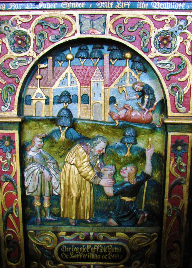 1650 Kippinge Kirkes skriftestol Claus DSC08197